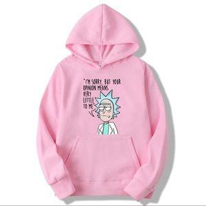 Rick and Morty Unisex Hoodie Sweatshirt